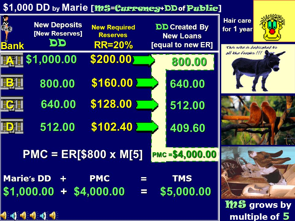 $1,000 DD by Marie [MS=Currency+DD of Public]